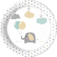 Procos Partyset Elephant Baby, 50-tlg. bunt