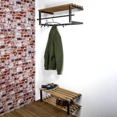 Flur Garderobenmöbel aus Eiche Massivholz...