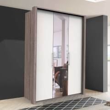 Kleiderschrank Jugendzimmer mit Spiegeltür modern