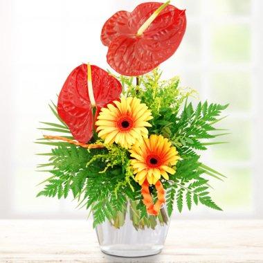 Blumenstrauß Südseetraum