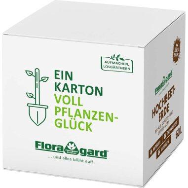 Floragard Bio Hochbeet-Erde in der Box 60 l