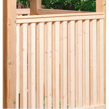 Weka Brüstungselemente-Set für Gartenlaube...