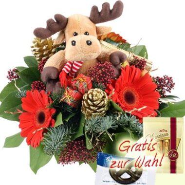 Olson Der Weihnachts-Elch Blumenstrauß