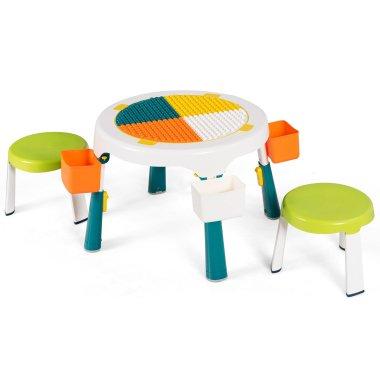 5 in 1 Kindersitzgruppe Kinder Spieltisch...
