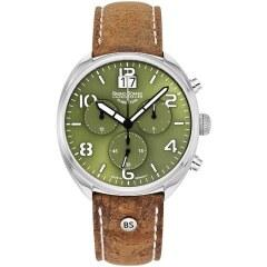 Bruno Söhnle Glashütte Uhren-Serie 17-13208-661 Herrenuhr mit Grossdatum
