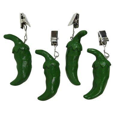 Tischdeckenbeschwerer Chili Grün Tischdeckengewichte...