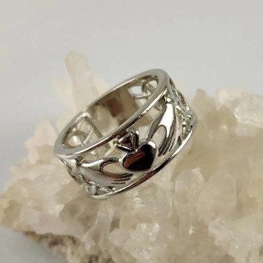 Claddagh Ring, Treue, Liebe Und Freundschaft...