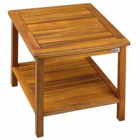 Gartentisch Beistelltisch »Washington« aus massivem Akazienholz 45x45x45cm