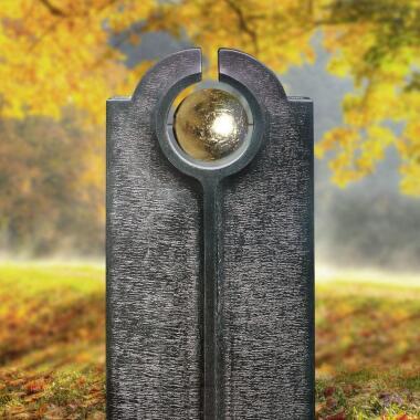 Moderner Granit Kindergrabstein mit...