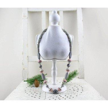 Vintage. Halskette 70Er Jahre Mid Century Schmuck Aus Kunststoff Ketten