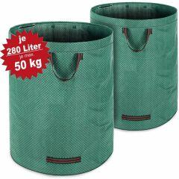 2x Gartenabfallsack Laubsack 280 Liter...