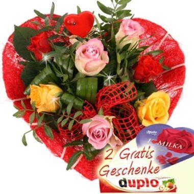 Danke, dass es Dich gibt Blumenstrauß online