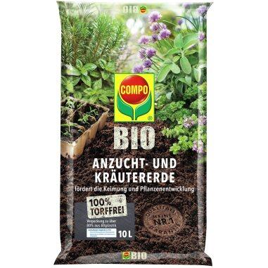 Compo Bio Anzucht- und Kräutererde...