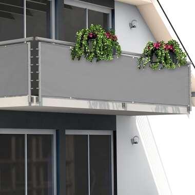 Deuba Sichtschutz für Balkon Betonoptik 5m