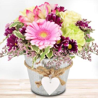 Blumengesteck Schön, dass es dich gibt...