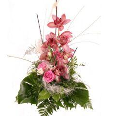 Orchideen-Strauß Rosa Traum