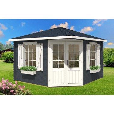 365 cm x 365 cm Gartenhaus Igor
