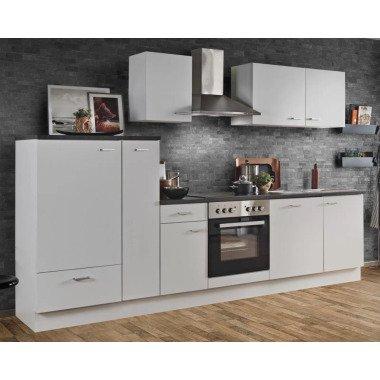 Küchenblock White Classic 300 cm weiß...