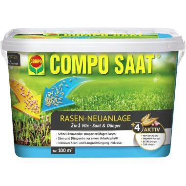Compo Saat Rasen-Neuanlage-Mix Rasen...