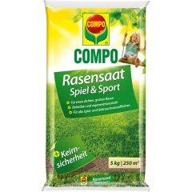 Compo Spiel- und Sport-Rasensamen 5 kg