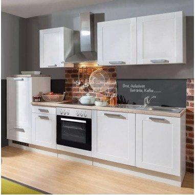Küchenblock White Premium 270 cm weiß...