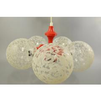 Space Age Deckenlampe, Kugellampe, Sputnik Lampe, Leuchter, 70Er Jahre