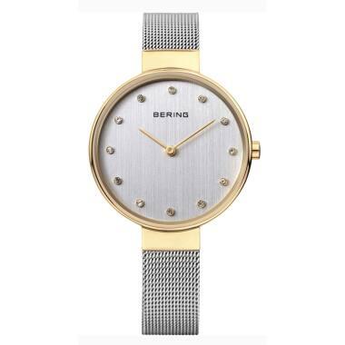 Bering Armbanduhr mit Milanesearmband 12034-010 Damenuhr