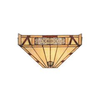 Wandlampe 'Glasgow' nach Louis C. Tiffany