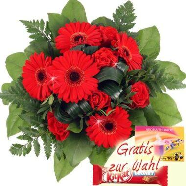 Blumenstrauß Red Power Blumenversand