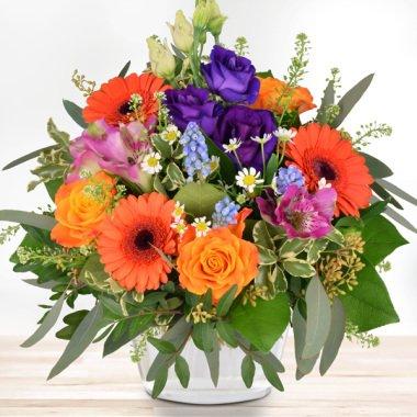 Blumenstrauß Happy Birthday