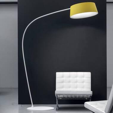 Farbenfrohe LED-Bogenlampe Oxygen_FL1, verstellbar bei Lampenwelt