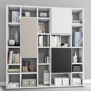 Design Regalwand für Arbeitszimmer modern