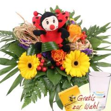 Glücks Blumenstrauß