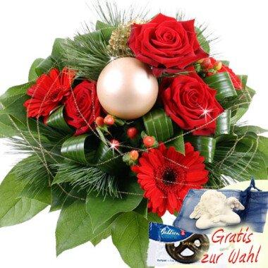Zauberglanz Blumen im Advent