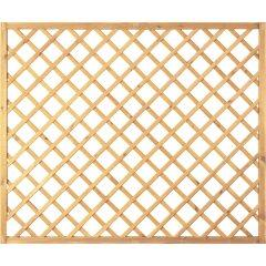 T & J Diagonal Rankzaun 10x10 180 x 150 cm