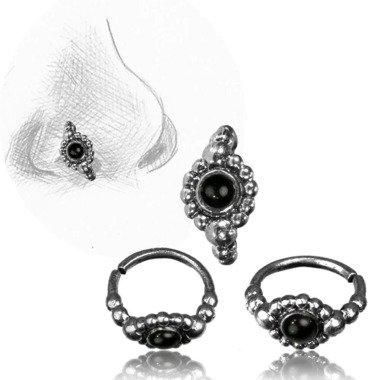 Nostril Piercing Nasenringe Silber Nasenring Kugeldesign 1 cm/0, 8 Mm