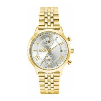 Chronograph für Damen, Edelstahl, Zirkonia JOOP! Gold