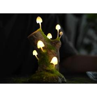 Pilzlampe/Pilz Nachtlicht Aus Holzeinsätzen...