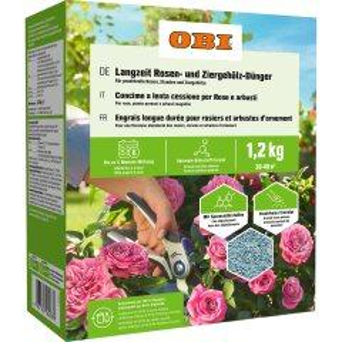 OBI Langzeit Rosen- und Ziergehölz-Dünger...
