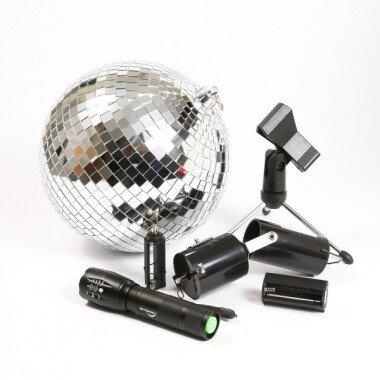 SATISFIRE Discokugel Set - Mobile Party...