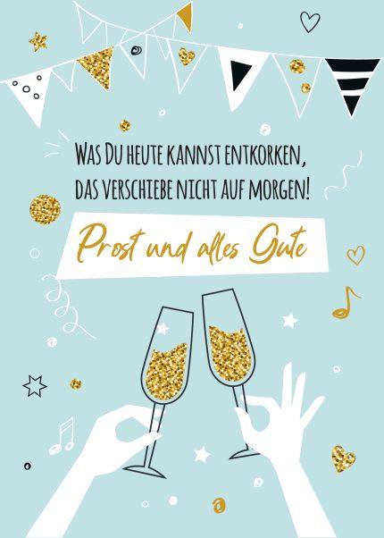 Prost & alles Gute!