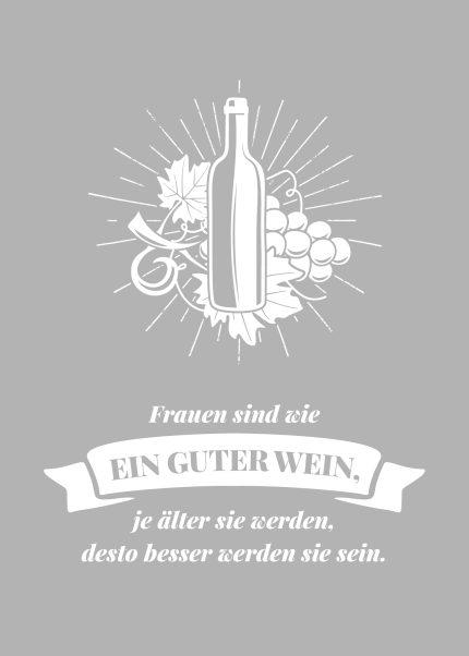 Wie guter Wein