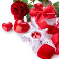 Valentinstag-Deko