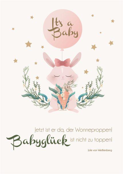 Wünsche baby Sprüche zur
