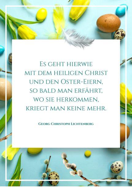 Heilige Christ & Ostereier