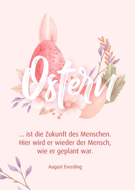 Oster ist...