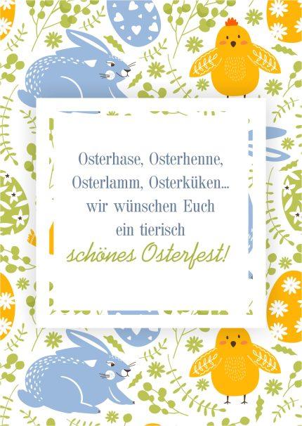 Schönes Osterfest!