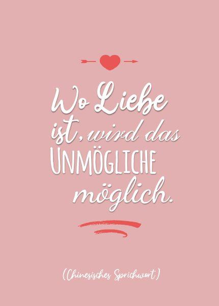 Wo Liebe ist...