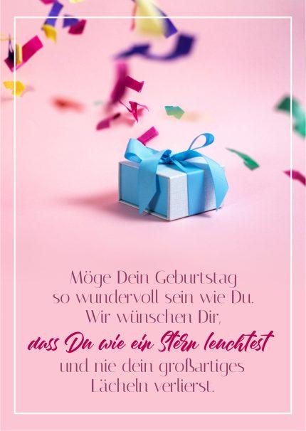 Wundervoller Geburtstag