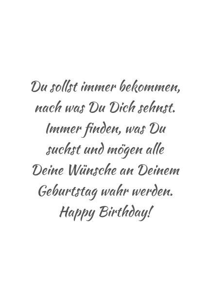 Gehen träume alle deine wünsche in erfüllung mögen und Geburtstagsglückwünsche zum